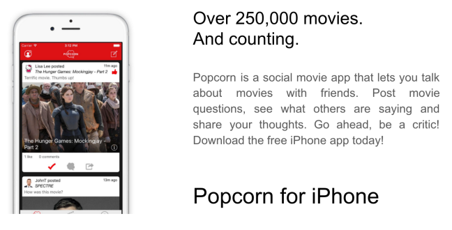 Over 250,000 movies. And counting.